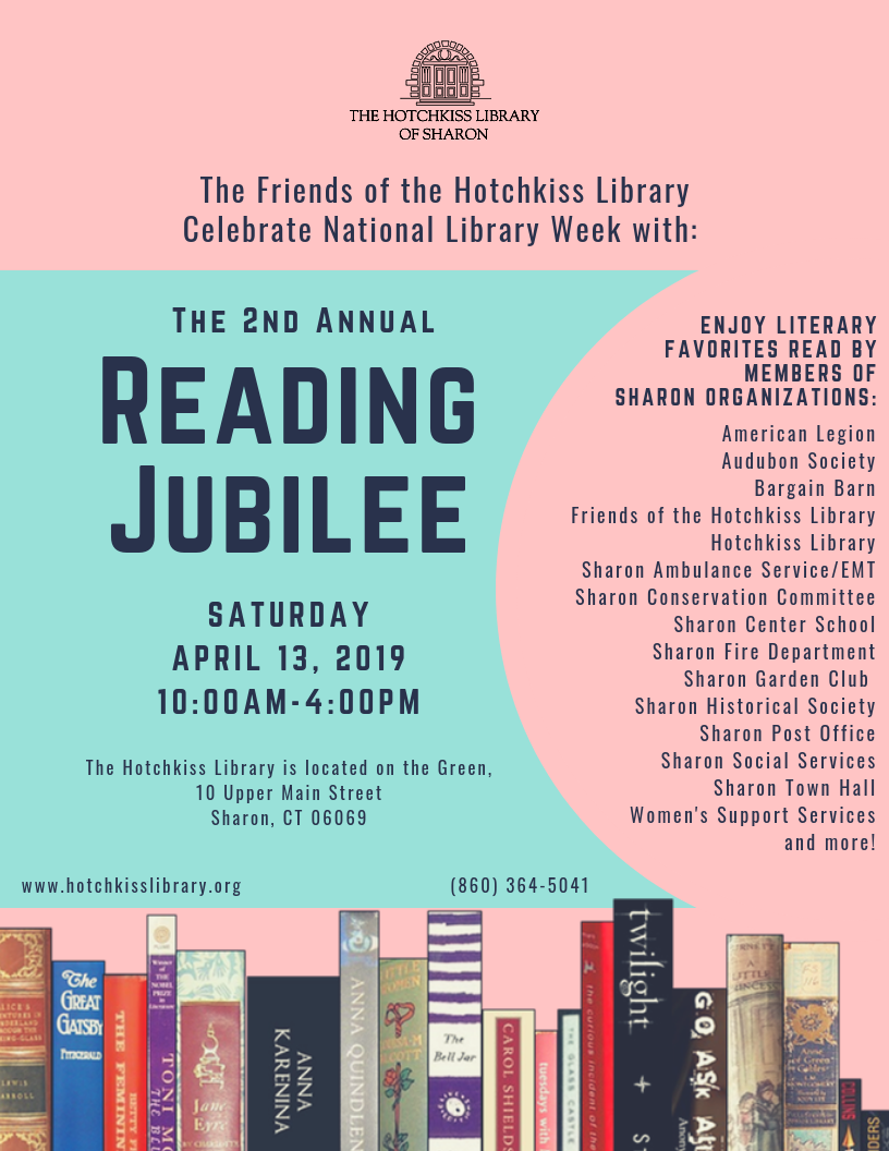 2nd Annual Town Reading Jubilee